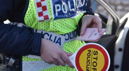 Osječko-baranjska policija: Vozač sa 4,63 promila alkohola u krvi skrivio prometnu nesreću