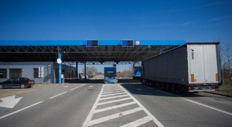 HAK: Granični prijelazi sa Srbijom i Crnom Gorom otvoreni samo za teretni promet, na svim ostalima pojačan promet