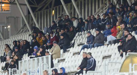 HT PRVA LIGA: Lokomotiva protiv Osijeka pred maksimalno preporučenih tisuću gledatelja