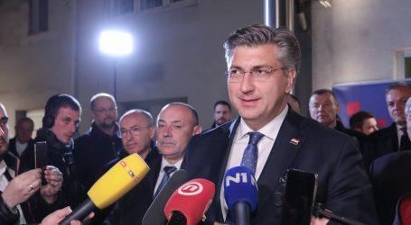 Uvjerljiva pobjeda: Plenković dobio 80 posto, Kovač 20 posto glasova