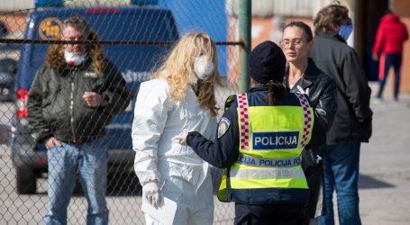 Policija popisuje Zagrepčane na ulazu u Rijeku