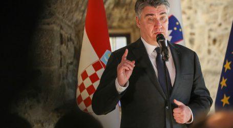 Predsjednik Zoran Milanović putuje u službeni posjet Austriji