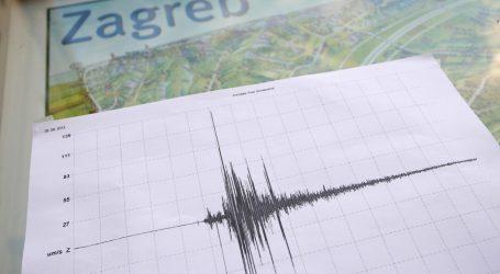 Sinoć slab potres u Zagrebu