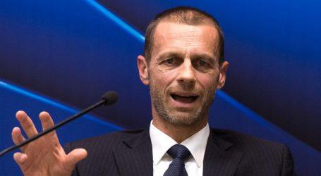 """ČEFERIN: """"Koronavirus je samo još jedan izazov za europski nogomet"""""""