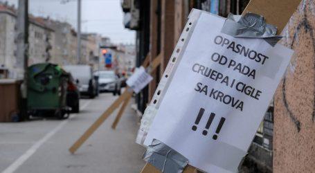 """GSKG Zagreb: """"Do sada je bilo više od 800 intervencija na zgradama, službe na terenu i dalje utvrđuju stanje"""""""