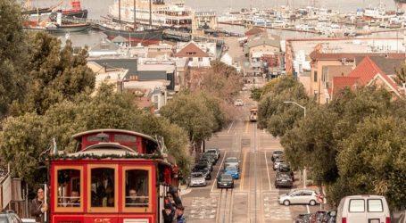Ulice San Francisca puste i bez prometa