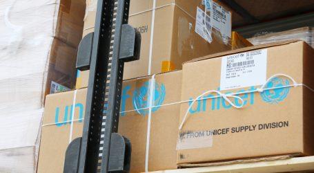 Pomoć UNICEF-a: Medicinska i zaštitna oprema stigla u Hrvatsku