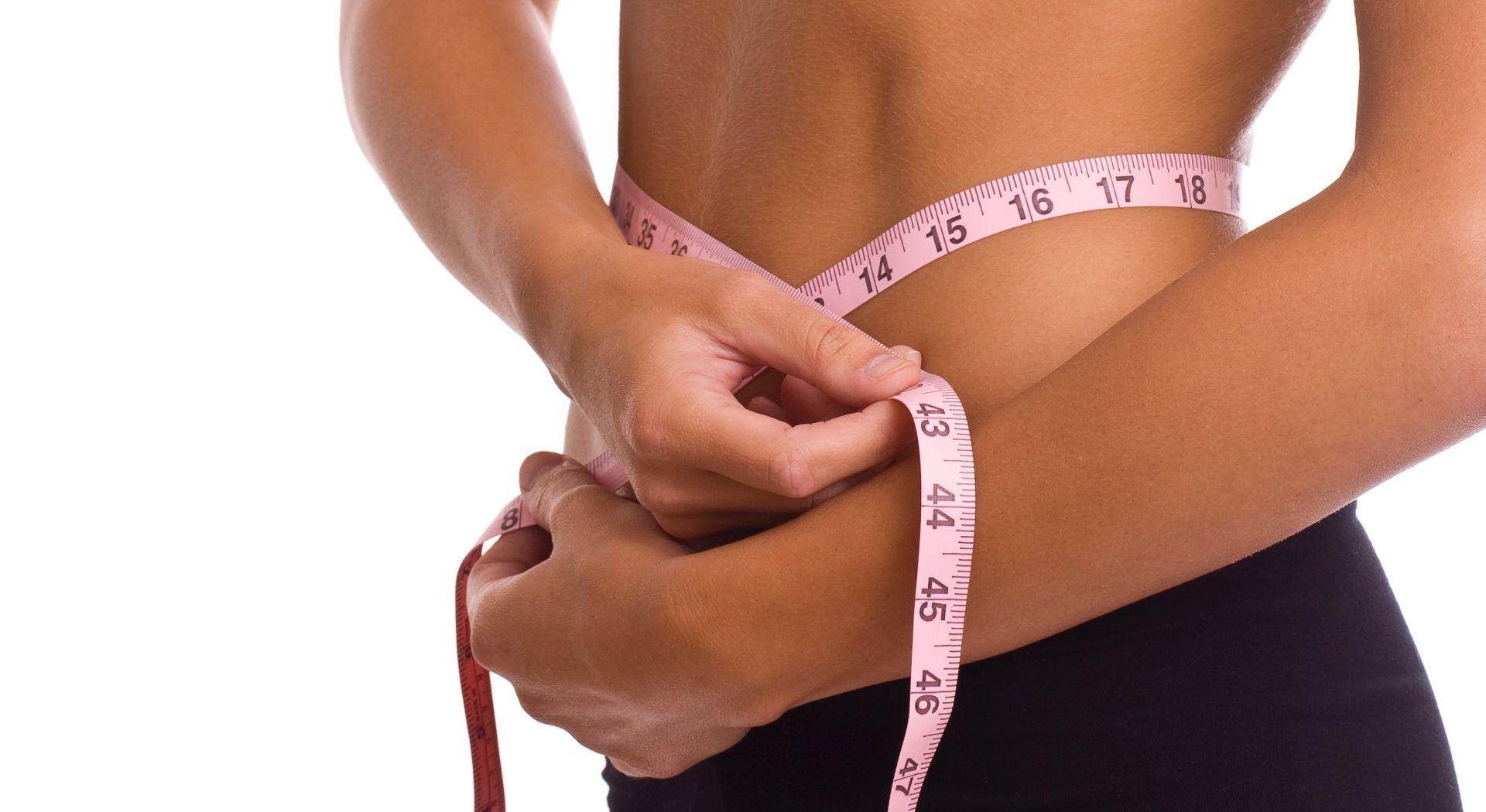 postotak gubitka kilograma mjesečno