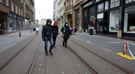 VIDEO: Zagreb: šetnja sablasno praznim gradom