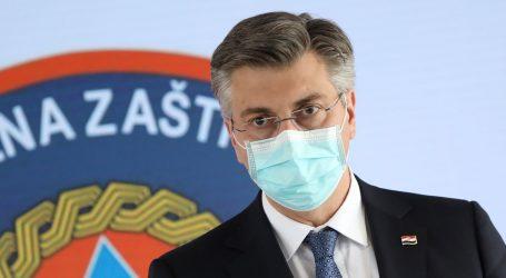 """Plenković: """"Profitiranje na potresu i epidemiji neće proći"""""""