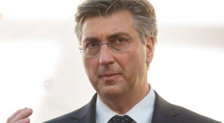 """Plenković: """"Žinić je trebao pokazati kako se treba ponašati u sadašnjoj situaciji"""""""