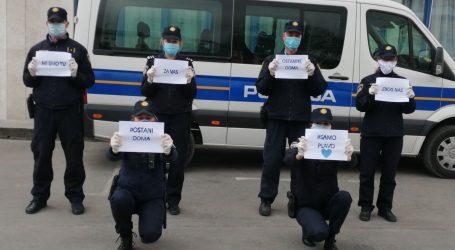 """Koronavirusom zaražena tri policajca: """"Mi smo tu za vas, ostanite doma zbog nas"""""""