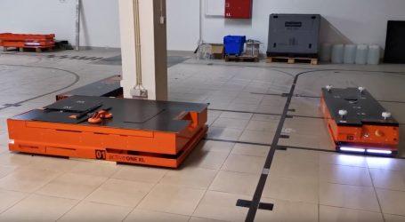 Roboti za logistiku imaju sve veći značaj