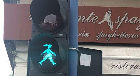Rijeka dobila tri nova 'ženska' semafora