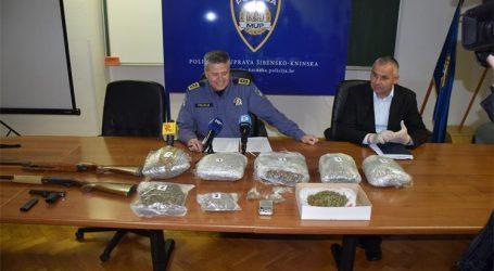 Šibenik: Policija zaplijenila veće količine droge i eksploziva