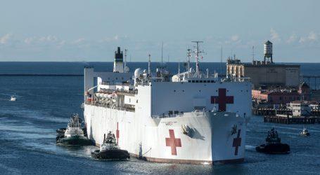 New York: Ploveća bolnica USNS Comfort stigla s 1000 kreveta