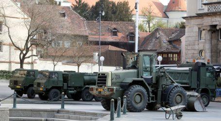 Hrvatska vojska nastavlja sanirati posljedice snažnog potresa u Zagrebu
