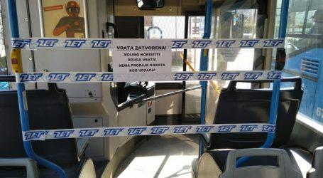Od danas ZET-ovi vozači trakom odvojeni od putnika, više ne prodaju karte