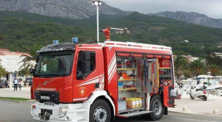 SPLIT: Zapalio se šator ispred Doma za starije i nemoćne na Zenti