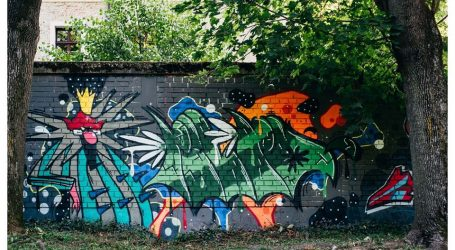 DAR ZAGREBU: Ulični umjetnici oslikali zidove parka Opatovina