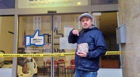'NOVA LOKACIJA' Juričan pozvao Zagrepčane da šutu ostave ispred 'Muzeja korupcije'