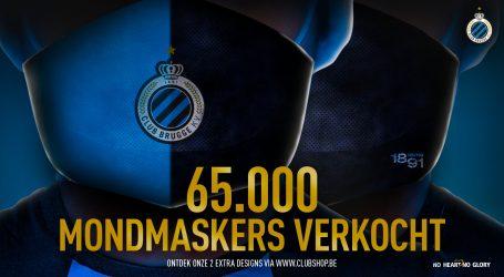 Club Brugge u dobrotvorne svrhe prodao 65.000 maski