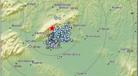 Podrhtavanje tla: Jutros zabilježen slabiji potres kod Zagreba
