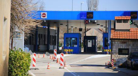 HAK: Privremeno zatvoreno 20 graničnih prijelaza s BiH