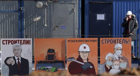 Požar na gradilištu bolnice u Rusiji, jedna osoba mrtva