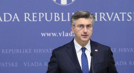 """Plenković: """"Nema potrebe za proglašenjem izvanrednog stanja"""""""