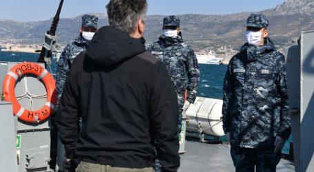 """Predsjednik Milanović sudjelovao na plovidbi ophodnog broda """"Omiš"""""""