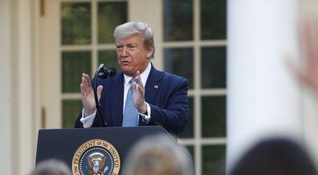 """Trump najavio smjernice za otvaranje ekonomije: """"Vrhunac epidemije prolazi"""""""