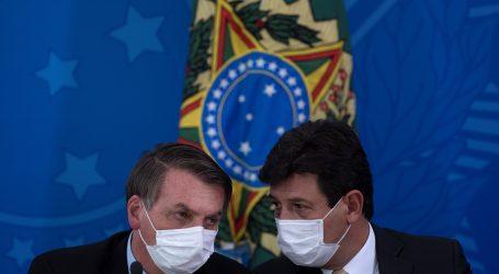 Bolsonaro smijenio minstra zdravstva u jeku epidemije