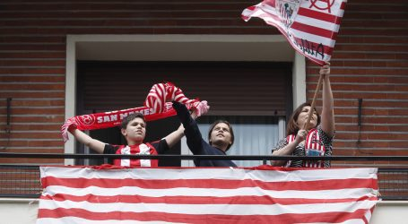 Baskijci na balkonima proslavili odgođeno finale Kupa kralja