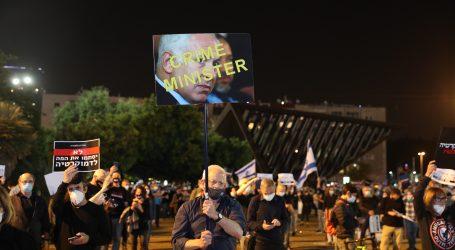 """""""Distancirani"""" prosvjed protiv Netanyahua privukao tisuće ljudi"""