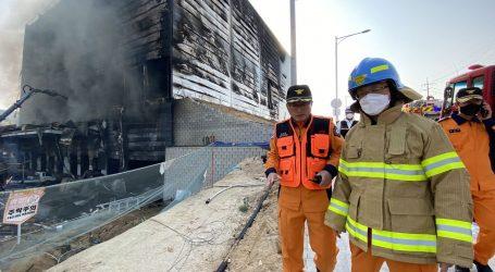Najmanje 25 mrtvih u požaru na gradilištu u Južnoj Koreji