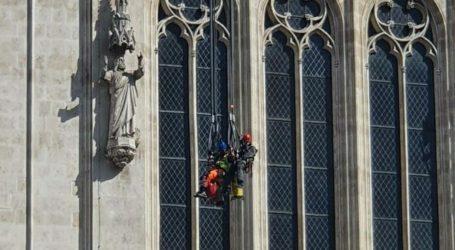 MORH: HV iz zraka snimao povijesni pothvat uklanjanja tornja katedrale