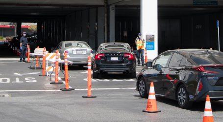 Los Angeles pust i bez većeg prometa na ulicama