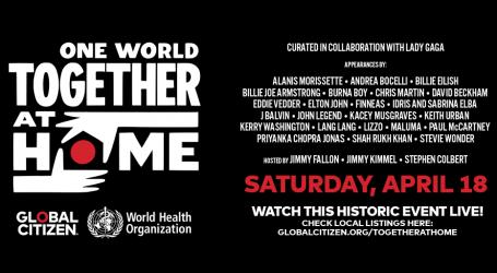 Lady Gaga organizira koncert za Svjetsku zdravstvenu organizaciju