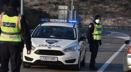 PULA: Žena htjela proći bez propusnice pa izvrijeđala policajce
