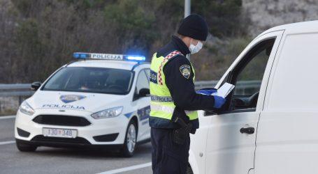 FOTO: Rijeka: Prilikom kontrole propusnica policija otkrila švercera s 200 kilograma duhana