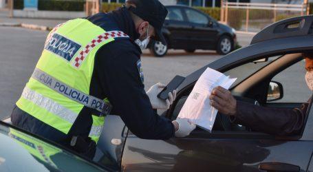 VIDEO: E PROPUSNICA: Od danas na snazi novi sustav propusnica, policija kontrolira diljem zemlje