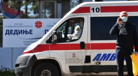 SRBIJA: Broj oboljelih popeo se na 2200, preminulo 58 osoba