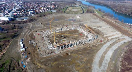 Fotogalerija izgradnje novog stadiona u Osijeku