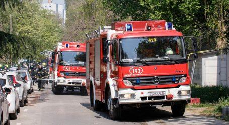 Požar u stanu u Zapruđu, jedna osoba ozlijeđena