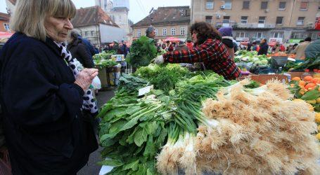 ZAGREB: Zelena tržnica postaje drive in, a otvoren je i Dolac za OPG-ovce