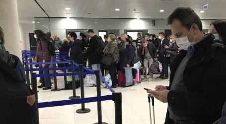 Svim putnicima povratnicima u Hrvatsku u zračnoj luci će se uzeti brisevi