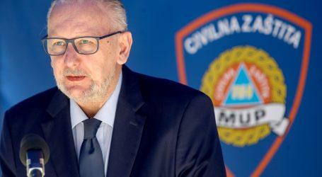 Božinović: U borbi protiv koronavirusa na terenu angažirano 25 tisuća operativaca