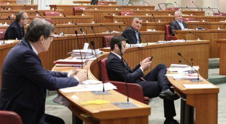 Sabor raspravlja o zaustavljanju ovrha na plaćama i mirovinama