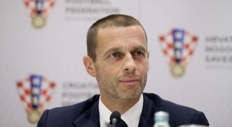 Predsjednik UEFA-e pomaže Sloveniji, kritički o komunikaciji vlasti
